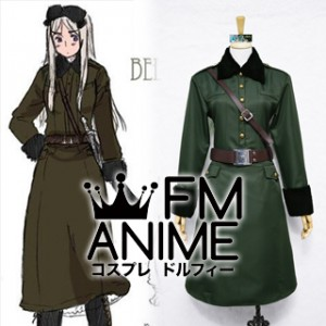 Axis Powers Hetalia Natalia Arlovskaya (Belarus) Military Uniform Cosplay Costume