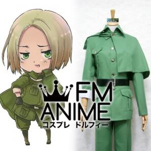 Axis Powers Hetalia Felix Lukasiewicz (Poland) Military Uniform Cosplay Costume