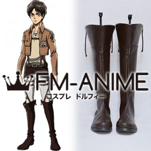 Attack on Titan Corps Military Uniform Cosplay Shoes Boots