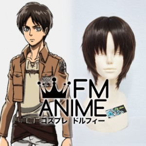 Attack on Titan Eren Yeager Cosplay Wig