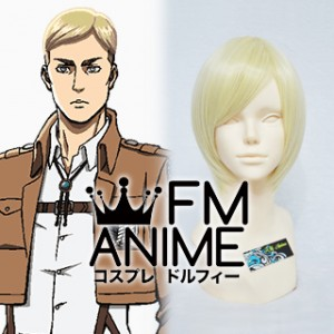 Attack on Titan Erwin Smith Cosplay Wig