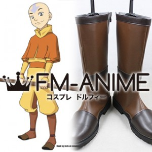 Avatar: The Last Airbender Aang Cosplay Shoes Boots