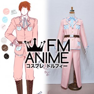 Axis Powers Hetalia Arthur Kirkland (2P England) Military Uniform Cosplay Costume