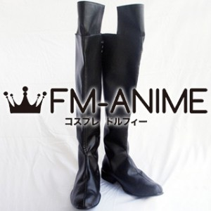Mobile Suit Gundam Wing Zechs Merquise Cosplay Shoes Boots