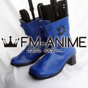 Ikki Tousen Shimei Ryomou Cosplay Shoes Boots