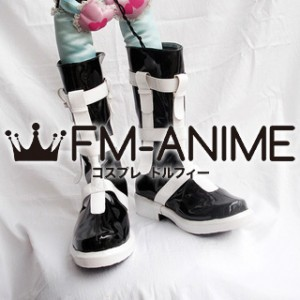 Vocaloid Kagamine Len Black Rock Shooter Cosplay Shoes Boots