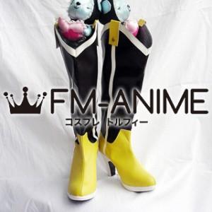 Puella Magi Madoka Magica Mami Tomoe Cosplay Shoes Boots