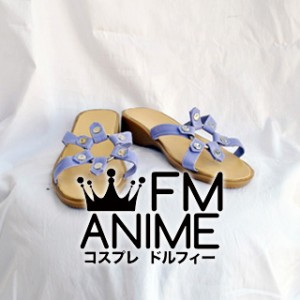 Touhou Project (Koumajou Densetsu) Cirno Cosplay Shoes (Light Purple)