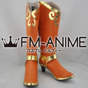 Legends of the Three Kingdoms Lady Sun / Sun Shangxiang Cosplay Shoes Boots
