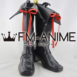 AKB0048 Cosplay Shoes Boots (Black)