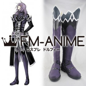 The Legend of Sun Knight Vival Moon Cosplay Shoes Boots (Comic Version)