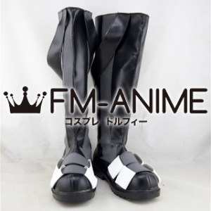 Kagerou Project Dark Konoha / Haruka Kokonose Black Cosplay Shoes Boots