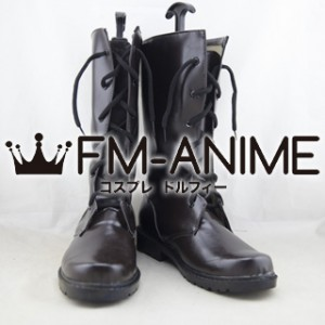 Final Fantasy XIII-2 Serah Farron (Summoner's Garb) Cosplay Shoes Boots (Dark Brown)