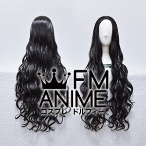 Back Combing Style 80cm Medium Length Wavy Cosplay Wig