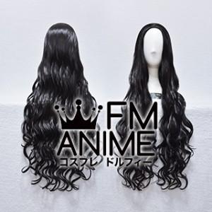 Back Combing Style 80cm Medium Length Wavy Cosplay Wig