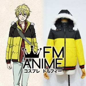 Blast of Tempest Mahiro Fuwa Cosplay Costume (Down Coat)