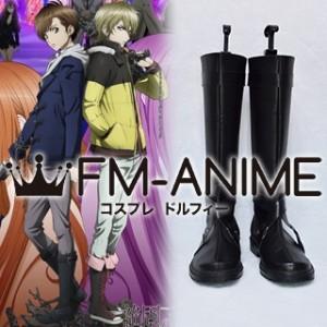 Blast of Tempest Yoshino Takigawa Cosplay Shoes Boots