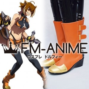 BlazBlue Makoto Nanaya Cosplay Shoes Boots