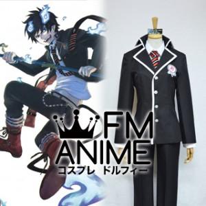 Blue Exorcist Rin Okumura True Cross Academy Uniform Cosplay Costume
