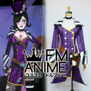 Borderlands 2 Mad Moxxi Purple Version Cosplay Costume