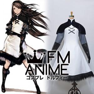 Bravely Default Agnes Oblige Dress Cosplay Costume (Version 2)