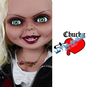 Bride of Chucky Tiffany Doll Cosplay Tattoo Stickers