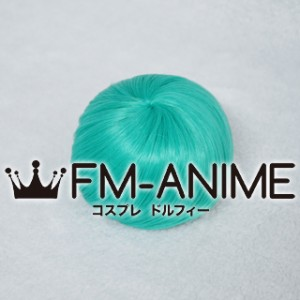 4 Inches Spiral Drawstring Bun Lake Green Cosplay Wig Accessory