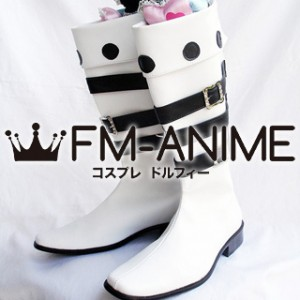 Mabinogi White Cosplay Shoes Boots