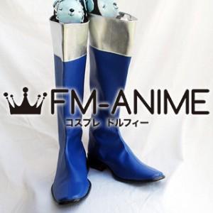 Super Sentai Series Choujuu Sentai Liveman Megumi Misaki / Blue Dolphin Cosplay Shoes Boots