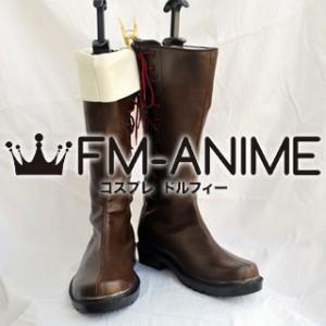 Puella Magi Madoka Magica Sakura Kyoko (Male) Cosplay Shoes Boots