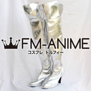 Macross Frontier The Movie: The Wings of Goodbye Sheryl Nome Military Uniform Cosplay Shoes Boots