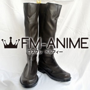 Dynasty Warriors 6 Guan Ping / Kan Pei Cosplay Shoes Boots