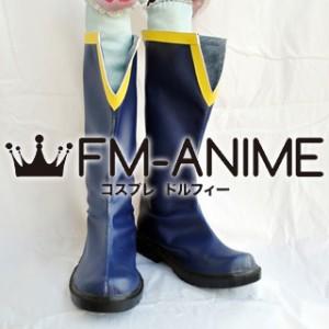 Puella Magi Madoka Magica Sayaka Miki (Male) Cosplay Shoes Boots