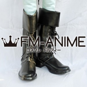AKB48 River (song) Cosplay Shoes Boots (Black)