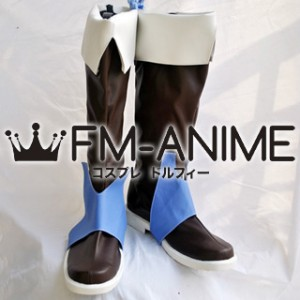 Wild Arms Alter Code: F Jack Van Burace Cosplay Shoes Boots