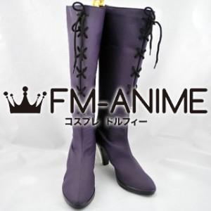 Blue Exorcist Mephisto Pheles Dojin Military Uniform Cosplay Shoes Boots