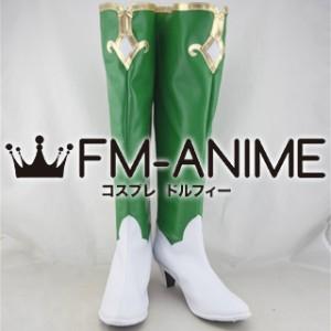Hyperdimension Neptunia Vert Cosplay Shoes Boots (Anime Version)