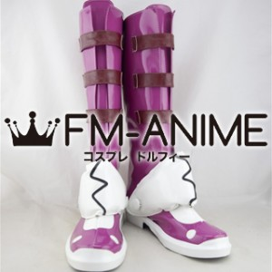 Queen's Gate: Spiral Chaos Marron Cosplay Shoes Boots