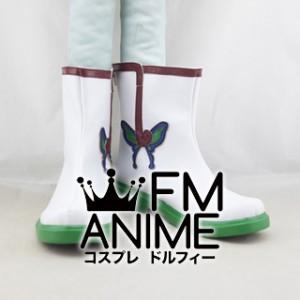 Hoozuki no Reitetsu Hakutaku Cosplay Shoes Boots