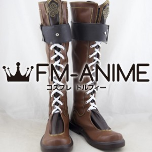 The Legend of Heroes: Sen no Kiseki II Rean Schwarzer Cosplay Shoes Boots