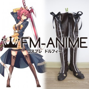 The Legend of Heroes: Sen no Kiseki II Sara Valestin Cosplay Shoes Boots