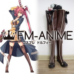 The Legend of Heroes: Sen no Kiseki Sara Valestin Cosplay Shoes Boots