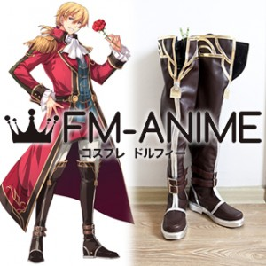The Legend of Heroes: Trails of Cold Steel Olivert Reise Arnor Cosplay Shoes Boots
