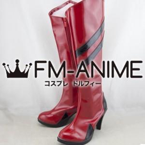 Neon Genesis Evangelion Asuka Langley Soryu Racing Cosplay Shoes Boots