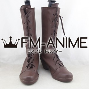 Rewrite Lucia Konohana Cosplay Shoes Boots #C848