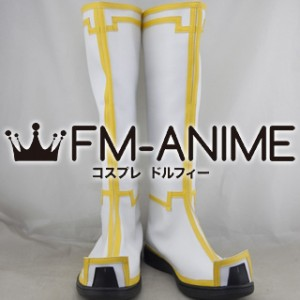 Dynasty Warriors 8 Zhuge Liang Cosplay Shoes Boots #C858