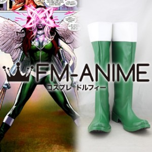 X-Men Rogue Cosplay Shoes Boots #C870