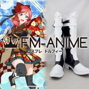 Love Live! Maki Nishikino Cosplay Shoes Boots #C872