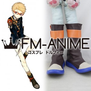 Touken Ranbu Hakata Toushirou Cosplay Shoes Boots #C873