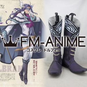 The Legend of Heroes: Trails of Cold Steel II Blbranc Cosplay Shoes Boots #C881